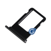 Sim Holder for Iphone 8 Μαύρο (OEM)