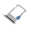 Sim Holder for Iphone 8 Ασημί (OEM)