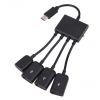 Type C Hub - Micro USB -> 4 Θύρες USB + 1 Θύρα micro-USB (OEM)