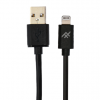Καλώδιο φόρτισης IFROGZ UniqueSync Lightning Cable 3m για iPhone / iPad / iPad  - Μαύρο