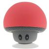 Ηχείο Bluetooth με σχήμα μανιταριού σε χρωμα κοκκινο.