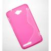 Θήκη TPU Gel S-line για Alcatel OneTouch Scribe Easy 8000 (OEM) - Ροζ