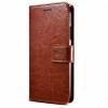 Θήκη για Lenovo K5 PRO Flip Case Wallet - Καφέ (OEM)