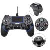 Ενσύρματο Χειριστήριο DoublelShock 4 για το PS4 Μαύρο v2 (Oem)