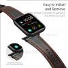 Λουρακι Δερματινο Dux Ducis Για Apple Watch 42/44mm Καφέ  (Series 1, 2, 3 & 4)
