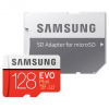 Κάρτα Μνήμης Samsung Evo Plus microSDXC 128GB U3 with Adapter