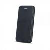 Senso Oval Δερμάτινη θήκη Book για Samsung Galaxy A51 - Μαύρο