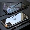 Senso Μεταλλική Μαγνητική Θήκη μπρος και πισω 360 μοιρών για Iphone 11 Pro ΜΑΥΡΟ