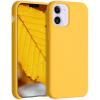 """Θήκη Σιλικόνης για Apple iPhone 12 mini 5.4"""" ΚΙΤΡΙΝΟ (ΟΕΜ)"""