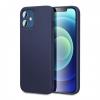 """Θήκη Σιλικόνης για Apple iPhone 12 Pro 6.1"""" ΣΚΟΥΡΟ ΜΠΛΕ(ΟΕΜ)"""