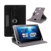 Δερμάτινη θήκη βιβλίο Universal αναδιπλούμενη για Tablet 10.0 ΜΑΥΡΗ (ΟΕΜ)