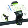 Βάση κινητού για ποδήλατο με led και πυξίδα Q003 (OEM)