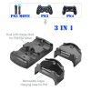 Βάση φόρτισης δυο χειριστηρίων και  move PS3 PS4  (Oem)