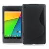 Θήκη Σιλικόνης για το Asus Google Nexus7 FHD 2nd Μαύρη (OEM)