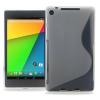 Θήκη Σιλικόνης για το Asus Google Nexus7 FHD 2nd Διάφανη (OEM)