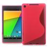 Θήκη Σιλικόνης για το Asus Google Nexus7 FHD 2nd Ρόζ (OEM)