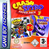GBA GAME - Crash & Spyro superpack vol 2 (ΜΤΧ)