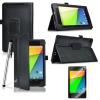 """Δερμάτινη Θήκη για το Asus Google Nexus 7 2013 7"""" Μαύρη (OEM)"""