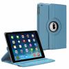 Apple iPad Air 2 - Περιστρεφόμενη & αναδιπλούμενη δερμάτινη (συνθετική) θήκη Γαλάζιο (OEM)