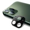 Προστατευτικό κάμερας για iPhone 11 Pro/11 Pro max ΣΚΟΥΡΟ ΠΡΑΣΙΝΟ