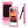 iPod Nano 7 - Θήκη TPU GEL Με Κλίπ Ζώνης Ρόζ (OEM)