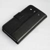 LG Optimus G Pro E988 E986 E985  Δερμάτινη Θήκη Stand Πορτοφόλι Μαύρο (OEM)