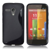Motorola Moto G / Moto G X1032 - Θήκη TPU GEl S-Line Μαύρη (OEM)