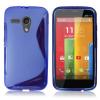 Motorola Moto G / Moto G X1032 - Θήκη TPU GEl S-Line Μπλέ (OEM)