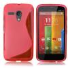 Motorola Moto G / Moto G X1032 - Θήκη TPU GEl S-Line Ρόζ (OEM)