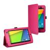 """Δερμάτινη Θήκη για το Asus Google Nexus 7 2013 7"""" Έντονο Φούξια (OEM)"""