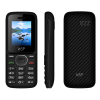 ΚΙΝΗΤΟ NSP 1800DS 1.8 DUAL SIM 2G 32MB/32MB RADIO-MP3/MP4 BLACK/BLACK