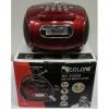 Golon RX-186 Mini MP3/Fm radio Speaker with built-in MP3 player and FM radio, support MP3 play from USB/SD Card - Black- Φορητό ηχείο με δυνατότητα αναπαραγωγής Mp3 μέσω USB ή SD κάρτας και ενσωματωμένο FM δέκτη -Κόκκινο-