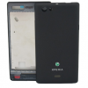 Sony ST23i Xperia miro Housing in black
