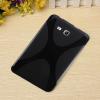 Μαλακή Θήκη Σιλικόνης για το Samsung Galaxy Tab 3 Lite 7.0 T110/T111  X-Line Μαύρη (OEM)
