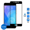 Full Face Tempered Glass Screen Protector Black για Meizu M6 Note (oem)