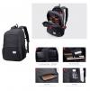 ARCTIC HUNTER τσάντα πλάτης 20005-BK, laptop, αδιάβροχη, μαύρη