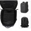 ARCTIC HUNTER τσάντα πλάτης B-00189-GY, laptop, αδιάβροχη, γκρί