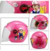 Full face της AOSHI κράνος μηχανής σε ροζ χρωμα με χαραχτηρες POKEMON για αστική χρήση 9-12 χρονων