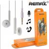 ΑΚΟΥΣΤΙΚΑ  Stereo  Handsfree Remax ΑΣΠΡΟ RM-609 (REMAX)