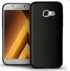 Θήκη Σιλικόνης για Samsung Galaxy A3 (2017) Μαύρη Ματ (OEM)