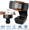 Pc Camera Για Υπολογιστή FULL HD 720P USB με μικρόφωνο μαύρη OEM