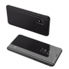 Θήκη Βιβλιο  Clear View για Xiaomi Redmi 9a - Μαύρο (OEM)