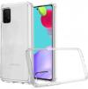 EΥΚΑΜΠΤΗ TPU ΘΗΚΗ ΠΙΣΩ ΠΛΑΤΗ  για Samsung  Galaxy A02S -  Διαφανες  (ΟΕΜ)