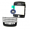 Genuine Blackberry 9360 Curve Lens/Window + Top Frame Assembly - 32098-002-R2-v1