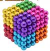 Χρωματιστοί μαγνήτες 5mm 216PCS Magnetic Balls DIY Puzzle Toy - 8 ΧΡΩΜΑΤΑ (OEM)