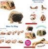 Stretchy Σκυλακι  σε διαφορα χρωματα -  Sensory, Stress, Fidget Toy  (oem)(bulk)