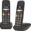 Gigaset E290 Duo Ασύρματο Τηλέφωνο Duo για Ηλικιωμένους με Aνοιχτή Aκρόαση