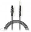 NEDIS COTH15120GY30 Unbalanced XLR Audio Cable XLR 3-pin Female – 6.35 mm Male 3