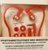 Ασύρματα Ακουστικά Hands free Άθλησης Bluetooth με μικρόφωνο - Πορτοκαλί (ΟΕΜ)