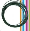 PETG 3D νήμα 1,75 mm - χρωμα σκουρο πρασινο (Esun) 10 meters